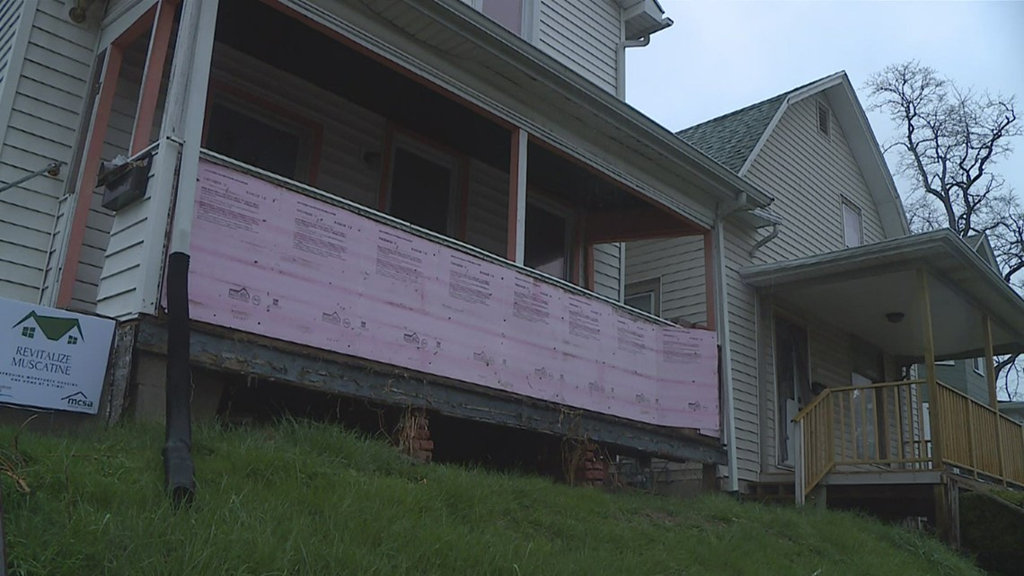 Neighborhood revitalization project begins in Muscatine