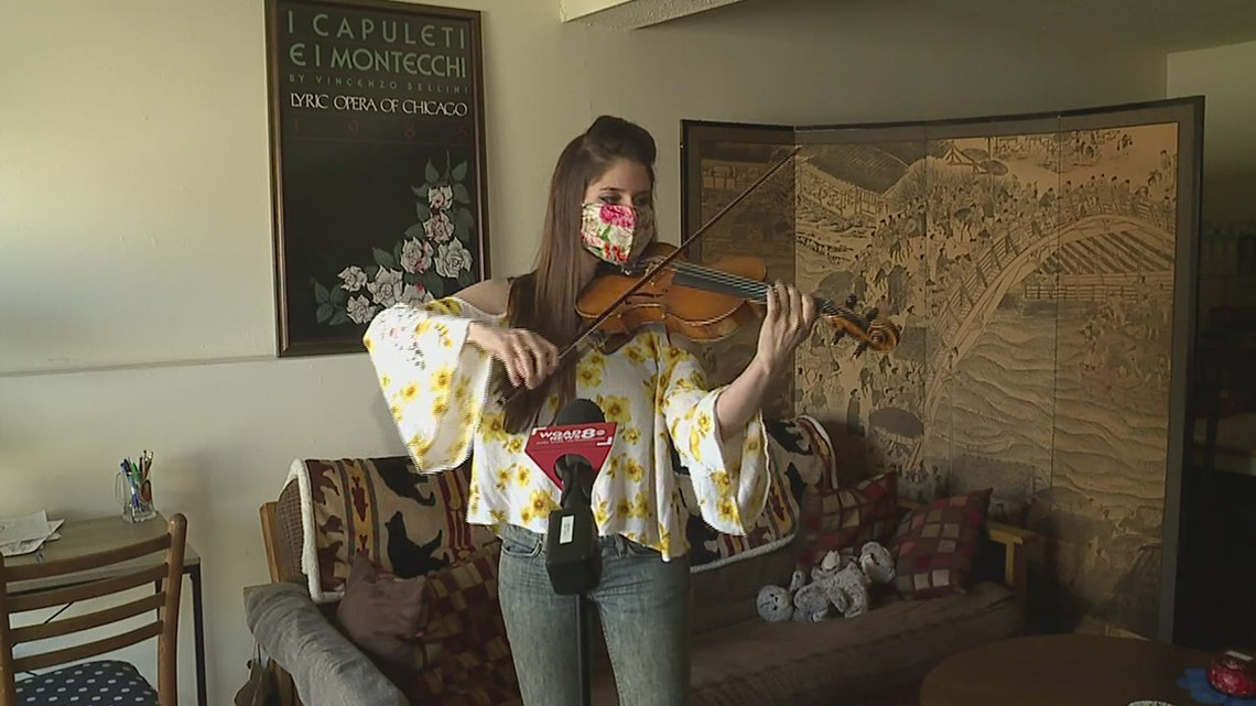 The Quad Cities Symphony Orchestra will perform at the Camden Center in Milan