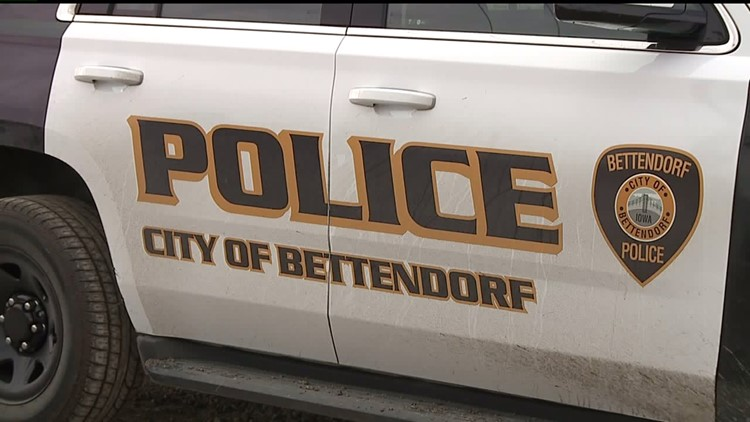 Bettendorf police arrest three men for using a slingshot to damage homes and vehicles
