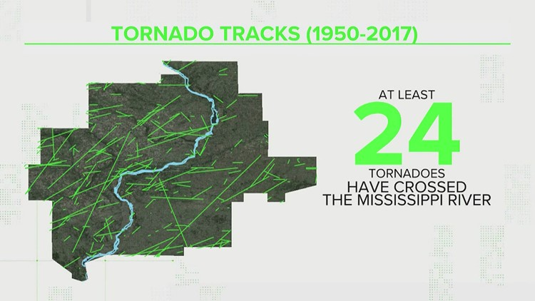 VERIFY: Does a river influence the path of a tornado?