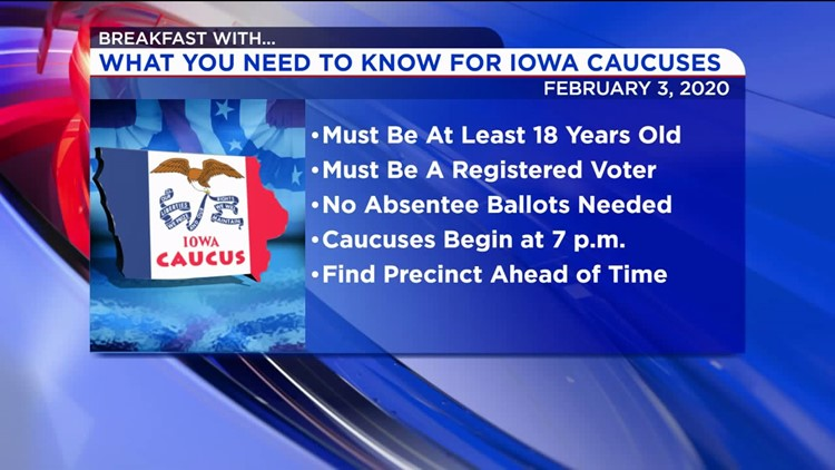 What You Need To Know For The Iowa Caucuses
