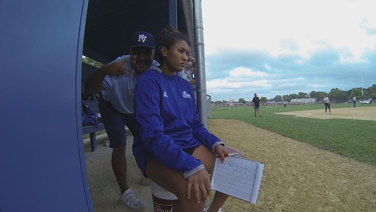 All in the Family - Father, Daughter coaching at Pleasant Valley