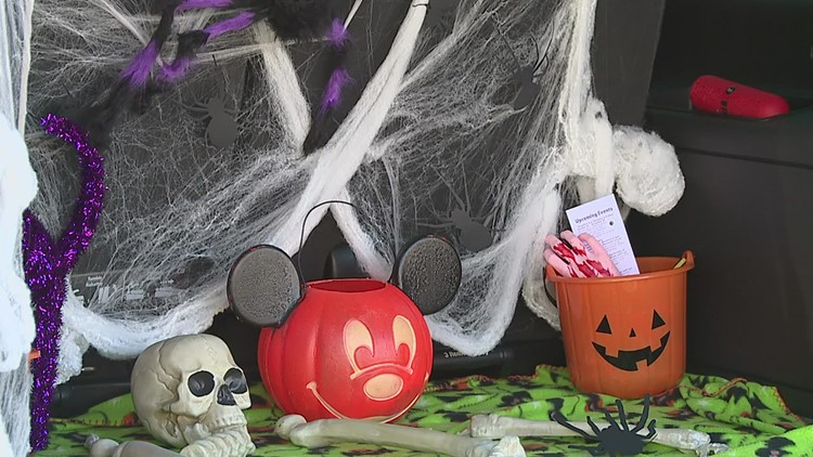 With Halloween a week away, some are kicking off the trick or treating early
