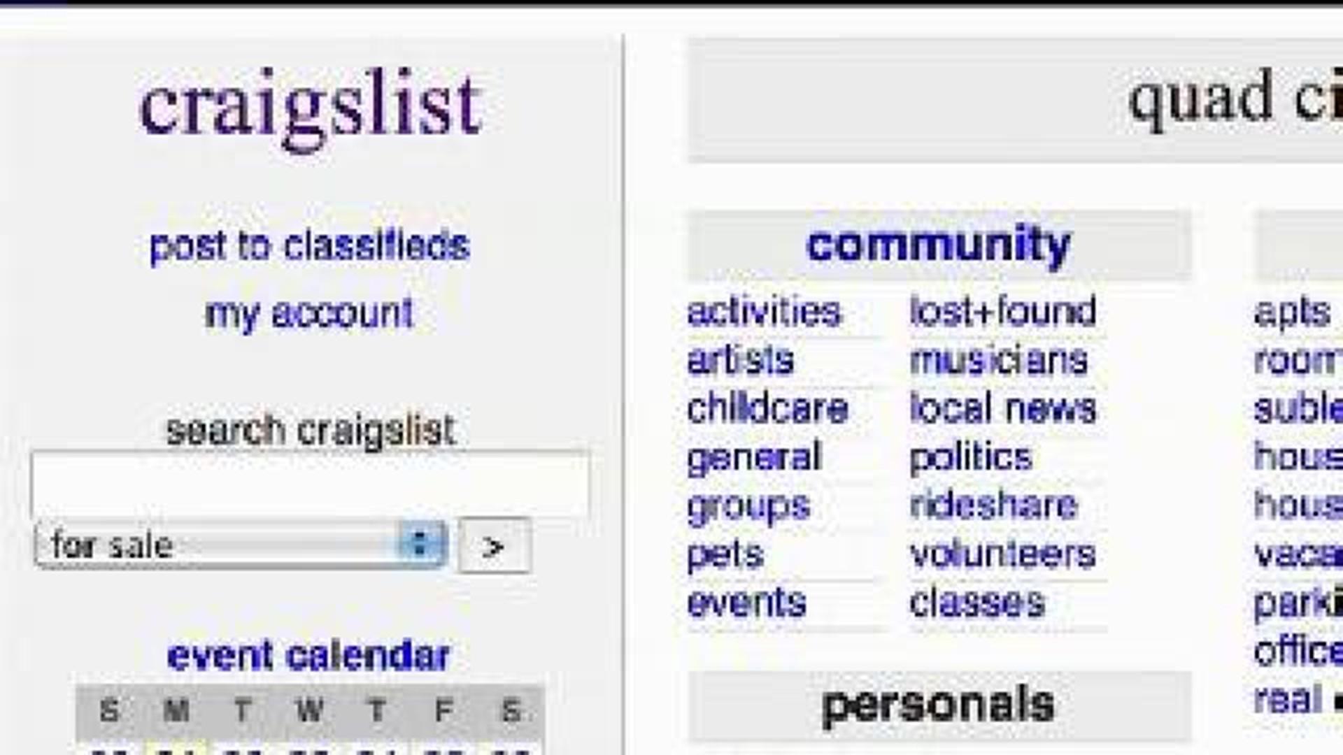 Craigslist scam reported in Quad Cities | wqad.com