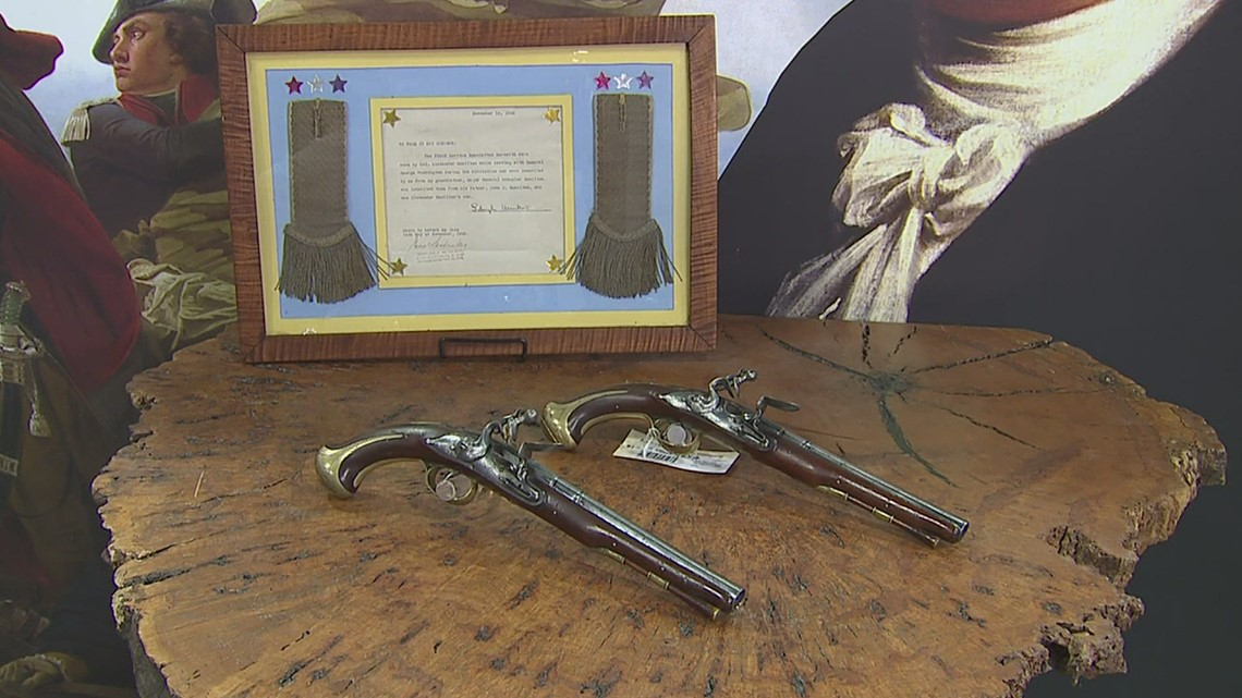 Pistols owned by Alexander Hamilton up for sale at the Rock Island Auction Company
