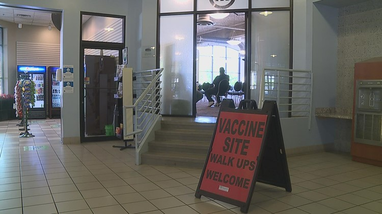 MetroLink helps more than 50 people get vaccinated at pop-up clinic