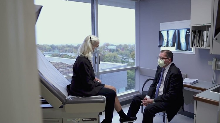 YOUR HEALTH: A breakthrough in knee surgery