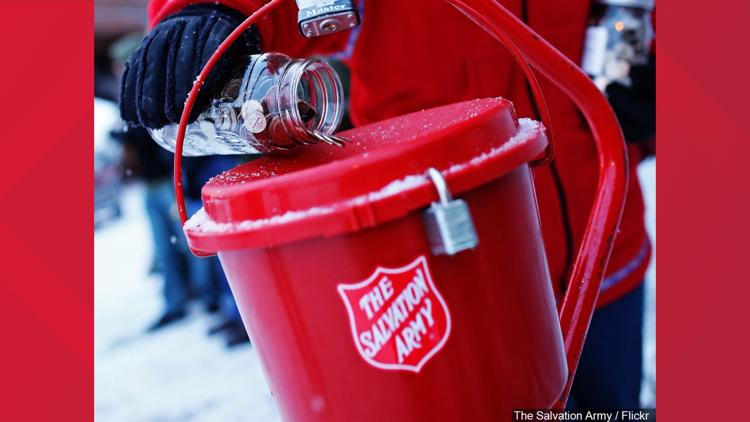 Salvation Army starts giving season 100 days before Christmas