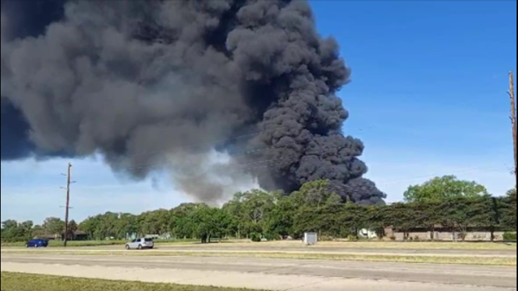 Industrial fire at manufacturing plant in north-central Illinois prompts evacuation