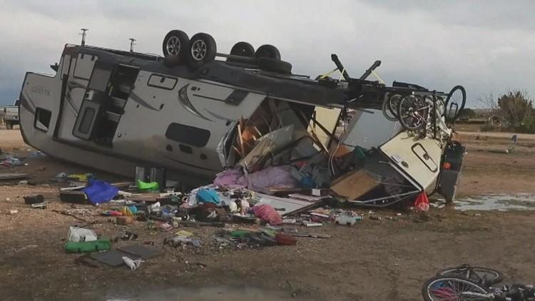 Tornados batter Texas panhandle Saturday