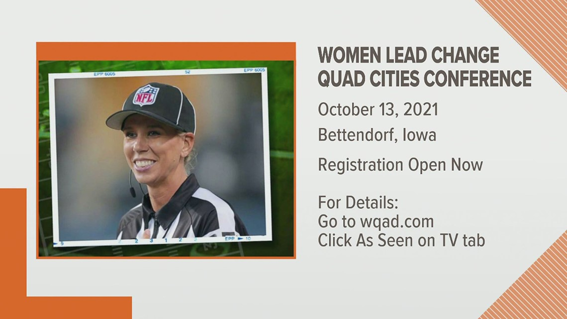 First Female NFL Referee to visit the Quad Cities
