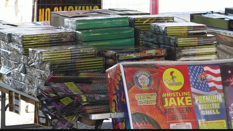 National firework shortage: What this means for those planning their own show