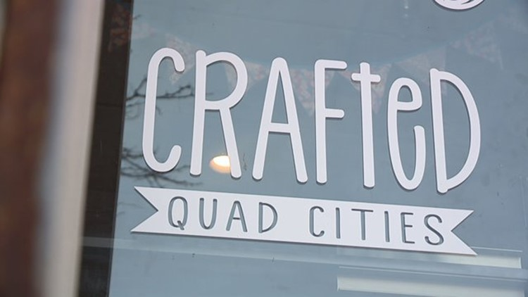 Downtown Davenport's Crafted Quad Cities store is closing