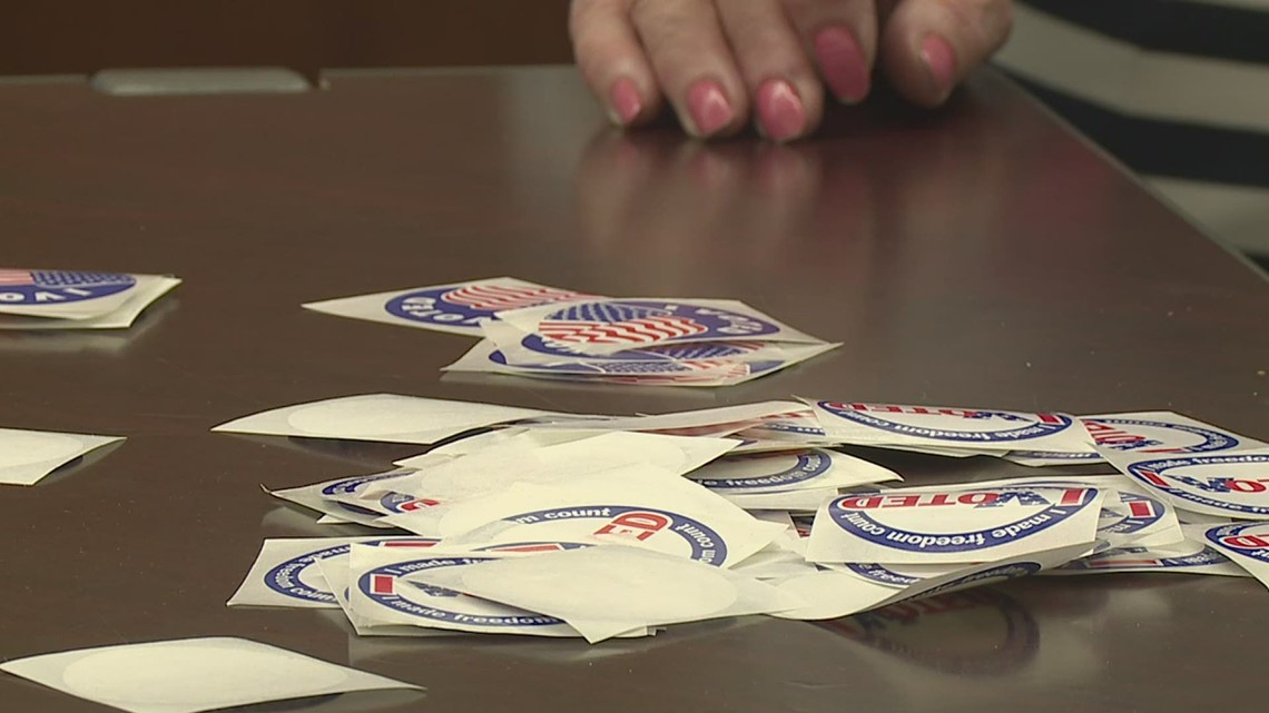 It's election day in Rock Island County