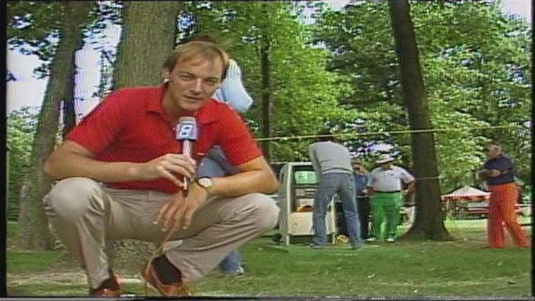 New tech in 1984 was a golf swing analyzer