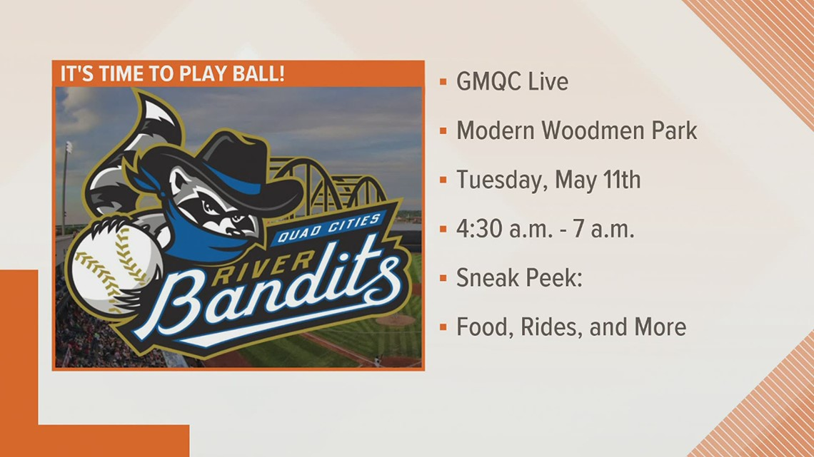 GMQC Team takes the show to Modern Woodmen Park for the River Bandits home opener
