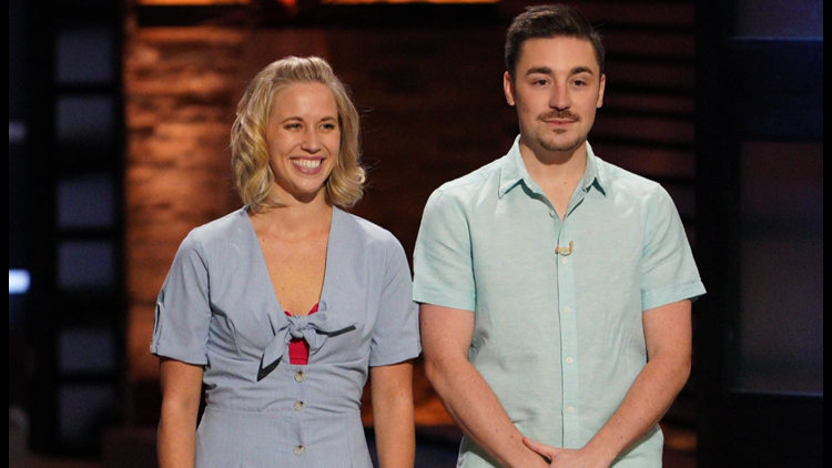 LeClaire couple presents swimsuit solution on ABC's Shark Tank