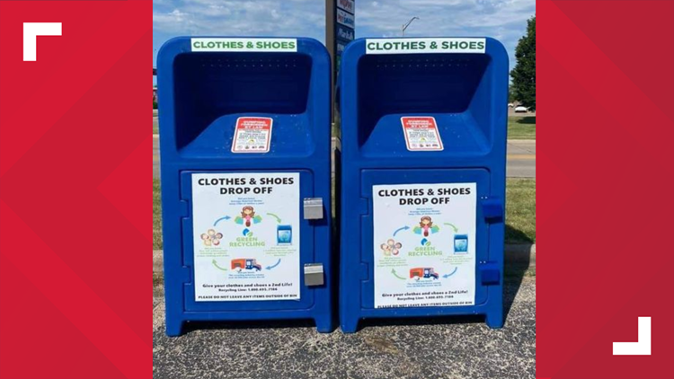 Unknown donation boxes pop up across Galesburg, GPD recommends removal