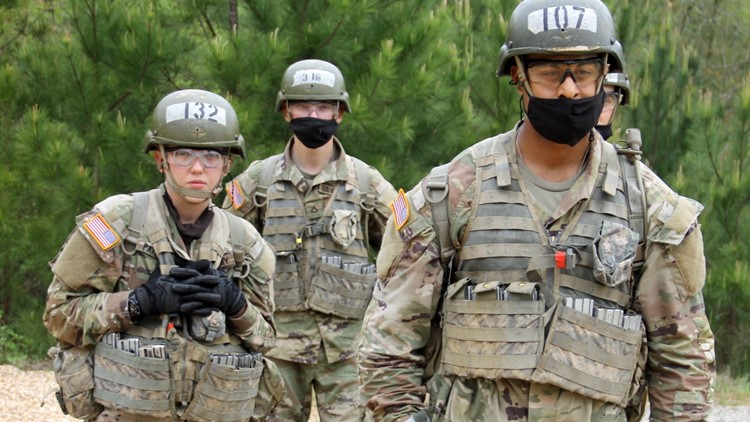 No longer a boys club: Iowa National Guard sees 1st enlisted female infantry soldier