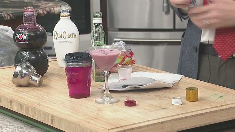 KETZ'S CONCOCTION: Unicorn Drink Martini in honor of National Unicorn Day