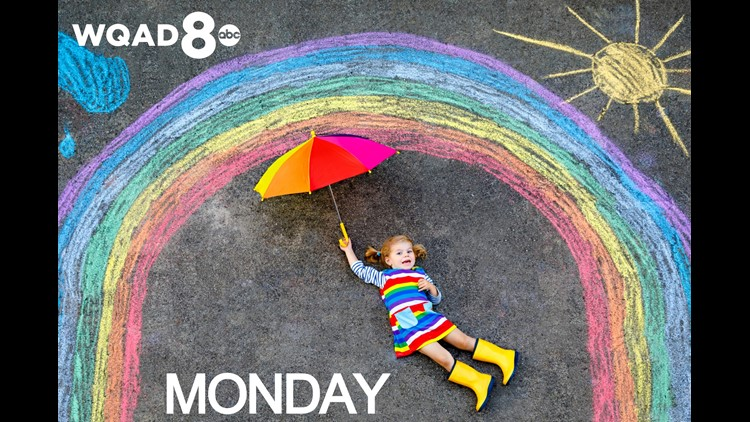 View Monday's Weather Kid