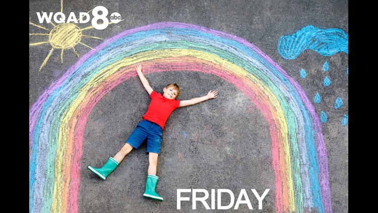 View Friday's Weather Kid