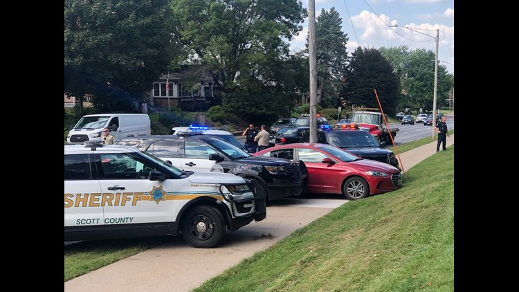 Police Arrest Davenport Man After Shots Fired Call Leads