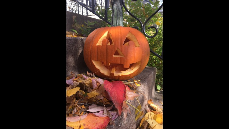 Here's the winner of the News 8 pumpkin carving contest