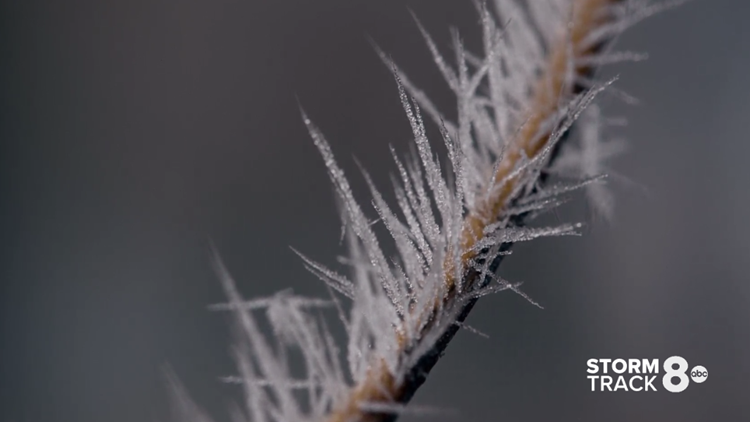 When can the Quad Cities expect its first frost of the season?