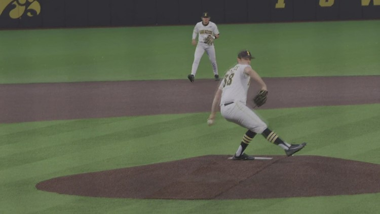 Trenton Wallace named B1G pitcher of the year