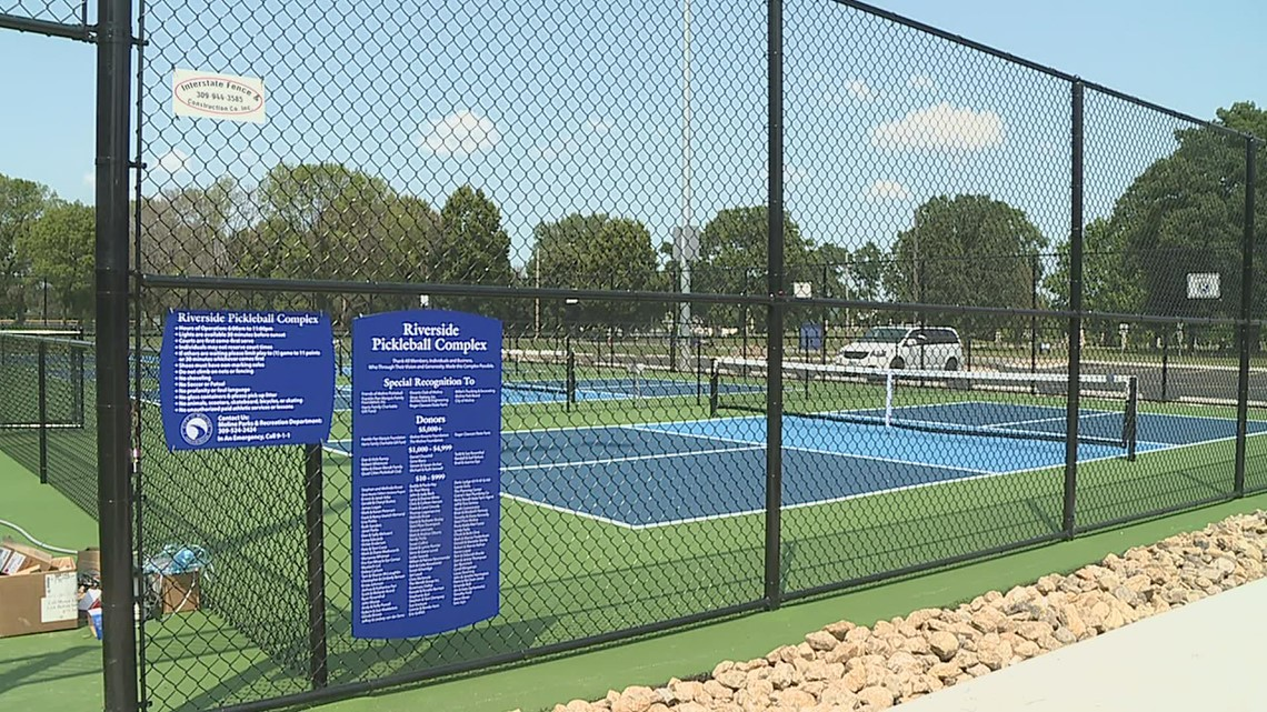 New pickleball complex opens at Riverside Park