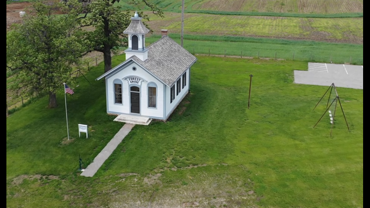Watch: A restored one-room schoolhouse in Bettendorf is set to reopen to the public