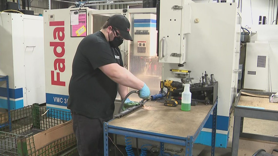 Pegasus Manufacturing looking to increase size but faces labor shortages