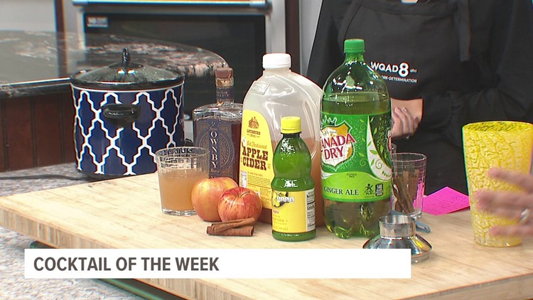 Cocktail of the week: Whiskey apple cider