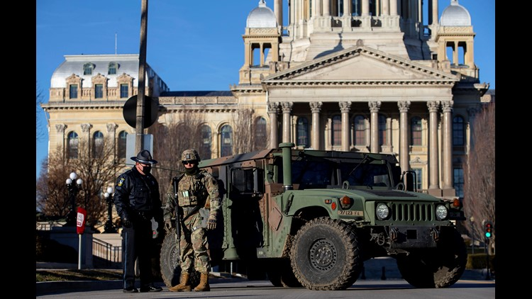 500 Illinois National Guard troops going to D.C. for 'security mission'