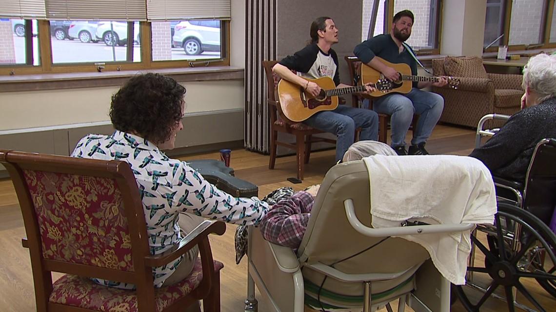 Music sparks memories at DeWitt nursing home