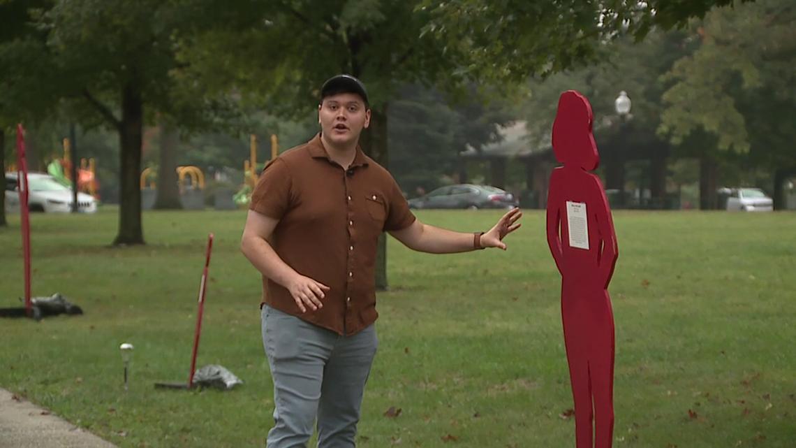 Kewanee organization uses plywood cutouts to shine light on domestic violence victims