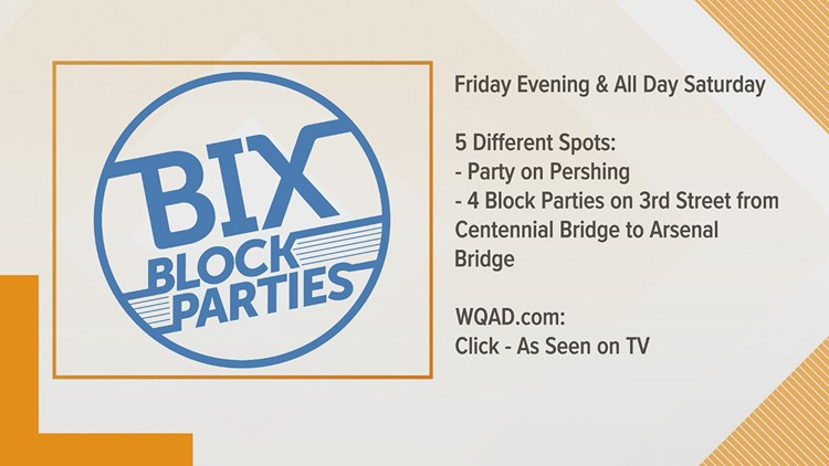 Bix Block Parties Bring New Experience to Bix Weekend