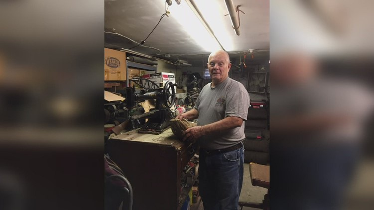 Pay It Forward recognizes Orion man who's repaired baseball gear for free for decades