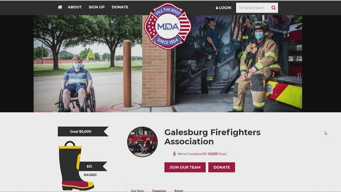 Galesburg firefighters hold virtual 'Fill the Boot' fundraiser to take place of in-person events during pandemic