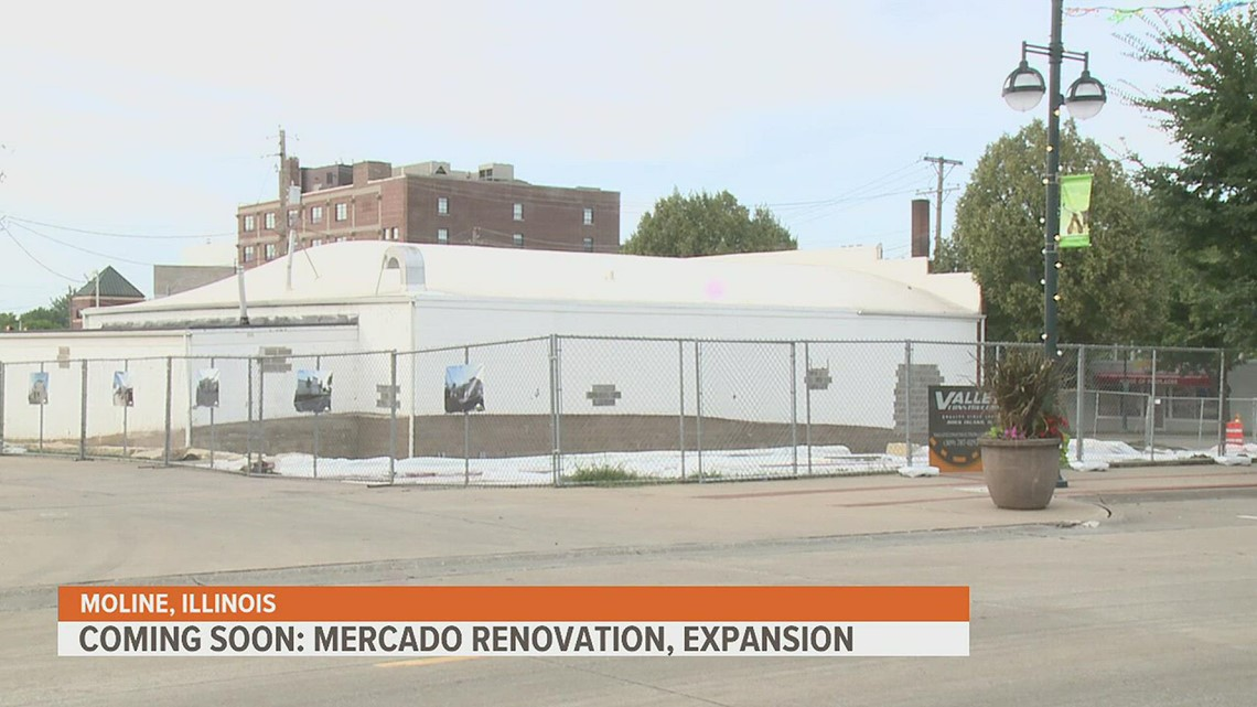 COMING SOON: Mercado on Fifth Expanding Into Indoor Space