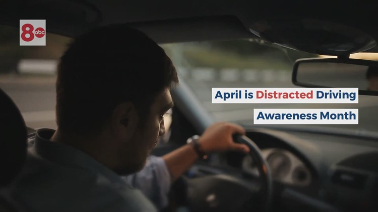 Moline and Rock Island PD set to crackdown during Distracted Driving Awareness Month