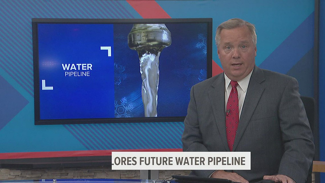 A proposed water pipeline could stretch from Muscatine to Louisa County