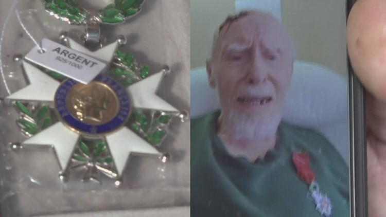 Iowa WWII veteran awarded French medal for Christmas