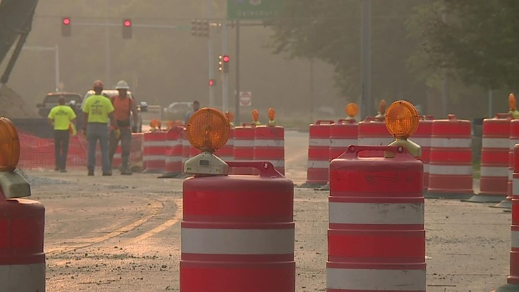 Two-way traffic to open on Avenue of the Cities by Labor Day Weekend