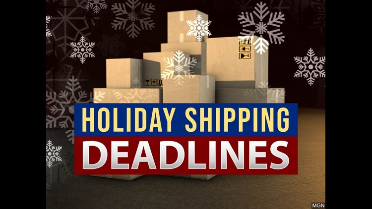Last Day To Ship Usps For Christmas 2021 Christmas 2020 Shipping Deadlines From The Us Postal Service Wqad Com