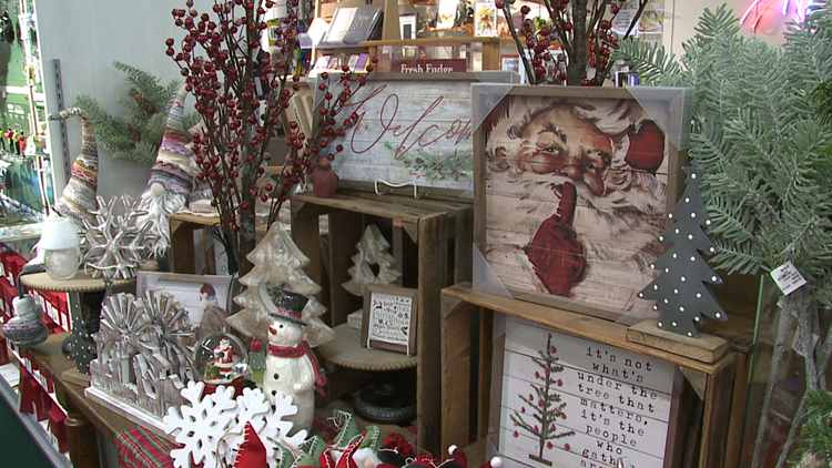 100 days until Christmas, local businesses say ditch online shopping and stop in instead