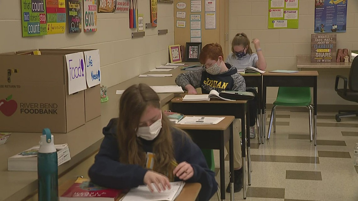 Illinois private school to maintain six feet social distancing after new safety guidelines from the CDC