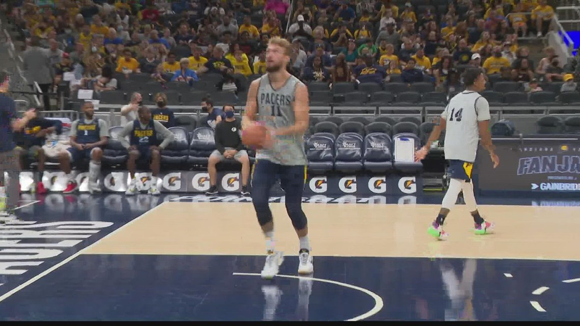 Pacers to play 1st game at newly-named Gainbridge Fieldhouse Saturday