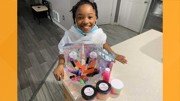 Child entrepreneur launches business while e-learning
